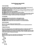 5th Grade Place Value Movement Lesson Plan with Recording Sheet-Arts Integrated