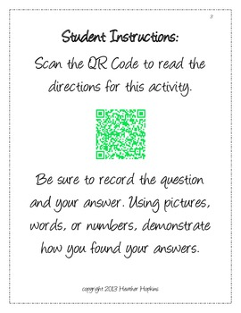 5th Grade Place Value QR Codes - 5.NBT.1