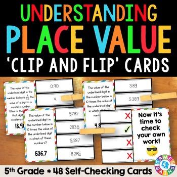 5th Grade Place Value: Understanding Place Value {5.NBT.1}