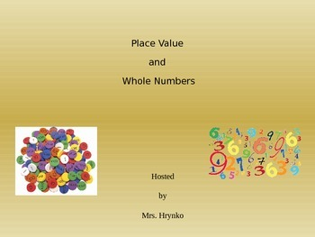 5th Grade Place Value and Whole Numbers Trivia Game Show-