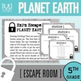 5th Grade Planet Earth Science Escape Room
