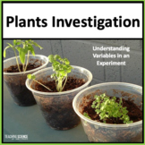 Plants Unit with Fair Tests NGSS 5-LS1-1