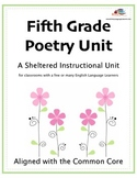 5th Grade Poetry: A Sheltered Instructional Unit for Engli