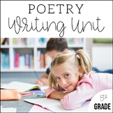 5th Grade Poetry Unit - Unit 6 {2 Weeks of CCSS Aligned Lesson Plans}