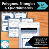 5th Grade Polygons Triangles and Quadrilaterals