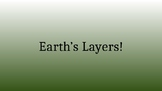 5th Grade Powerpoint Lesson - Weathering, Erosion, Deposition, and Earth Layers