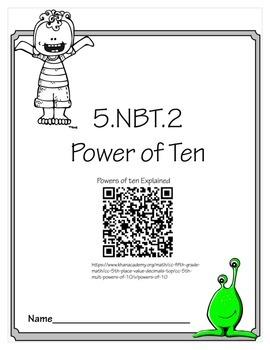 5th Grade Powers of 10 EXTENDS 5.NBT.2