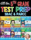 SBAC and PARCC Test Prep 5th Grade