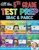 SBAC and PARCC Test Prep 5th Grade Bundle