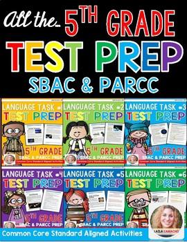 SBAC and PARCC Test Prep 5th Grade