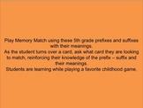 5th Grade Prefix and Suffix Activity