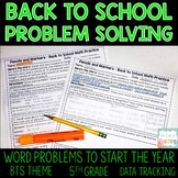 Back to School Problem Solving