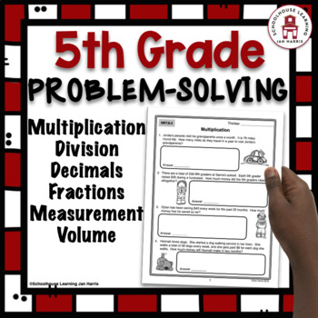 5th Grade Problem Solving Bundle