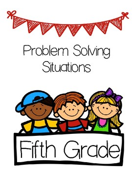 5th Grade Problem Solving Situations-Book