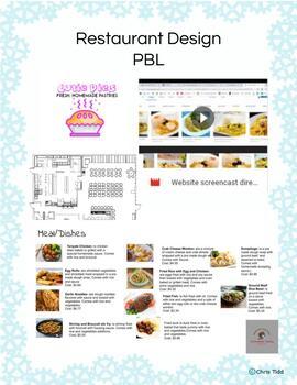 5th Grade Project Based Learning Restaurant Design