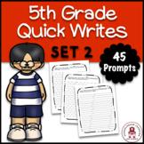 5th Grade Quick Writes Set 2