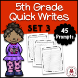 5th Grade Quick Writes Set 3