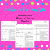 5th Grade Reading Book Lists