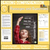 5th Grade Reading Comprehension Passages and Questions