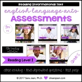 5th Grade • Reading Comprehension Passages and Questions • RL I • Bundle