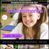 5th Grade • Reading Comprehension Passages and Questions • RL I & II • Set 1