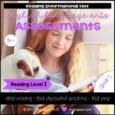 5th Grade • Reading Comprehension Passages and Questions • RL I • Set 5