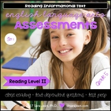 5th Grade • Reading Comprehension Passages and Questions • RL II • Set 1