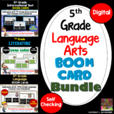 5th Grade Reading Digital Boom Cards Bundle