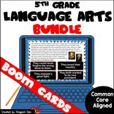 5th Grade Reading Digital Boom Cards Bundle Distance Learning