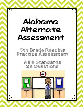 5th Grade Reading Extended Standards Practice Test