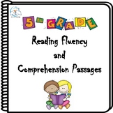 5th Grade Reading Fluency and Comprehension Passages