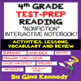 4th Grade Reading Interactive Notebook! Review Important R