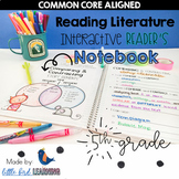 5th Grade Reading Interactive Notebook: Reading Literature