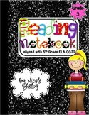 5th Grade Reading Interactive Notebook (aligned with the Common Core)