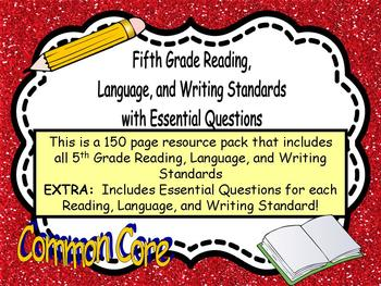5th Grade Reading, Language, and Writing Standards Common Core
