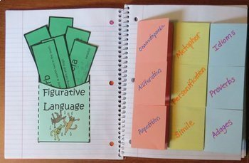 5th Grade Reading Level Interactive Notebook and Activity Book Unit Series