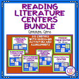 5th Grade Reading Literacy Centers - RL.5.1 - RL.5.4 Bundle