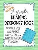 5th Grade Reading Response Logs: Literature