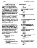 5th Grade Reading Skill Practice Worksheet and Key - Visualizing