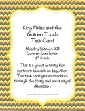 5th Grade Reading St. Task Card- King Midas and the Golden Touch (CC 2011)