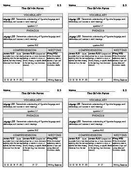 5th Grade Reading Street 2013 Unit 2 Grading Slips