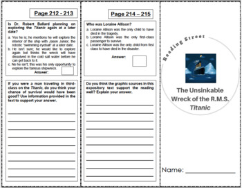 5th Grade Reading Street Activity Pack - Unit 5