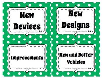 5th Grade Reading Street Concept Maps Unit 3 (Common Core Edition 2011)