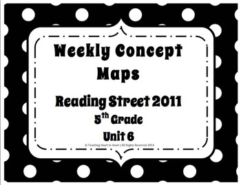 5th Grade Reading Street Concept Maps Unit 6 (Common Core