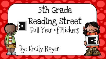 5th Grade Reading Street Full Year of Plickers
