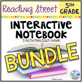 5th Grade Reading Street INTERACTIVE NOTEBOOK Bundle Unit 1-6
