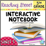 5th Grade Reading Street Interactive Notebook Unit 1: Comm
