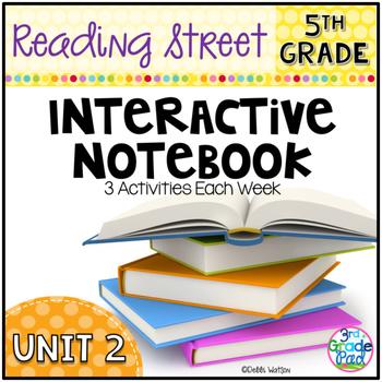 5th Grade Reading Street Interactive Notebook Unit 2: Common Core Edition