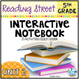 5th Grade Reading Street Interactive Notebook Unit 2: Comm