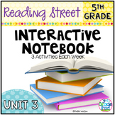 5th Grade Reading Street Interactive Notebook Unit 3: Comm